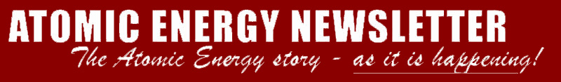Atomic Energy Newsletter